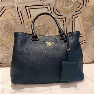 PRADA Vitello Diano Shoulder Bag